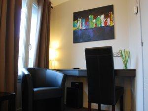 chambre double confort 1 ou 2 persones